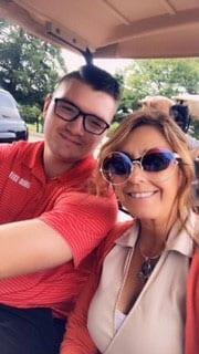 Jordan-Paula-selfie